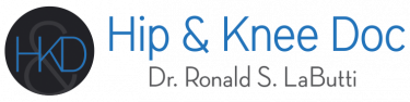 Dr. Ronald S Labutti, Hip and Knee Doc logo